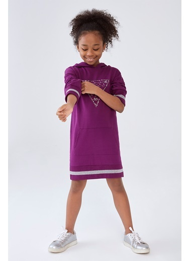 Guess Kız Çocuk Mor Elbise,MOR,12YAS Mor